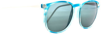 American Apparel Vintage IOC Blue Cloud Frame Sunglasses