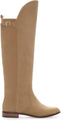 Zara Trf Flat Boot