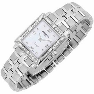 Raymond Weil Parsifal - Ladies' Diamond Frame Mother of Pearl Date Watch