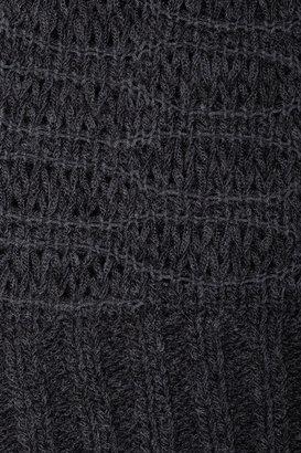 Donna Karan Open-knit sweater