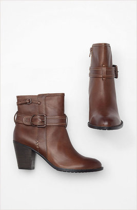 Sofft leather buckle booties