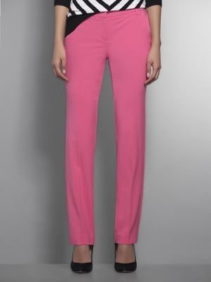 New York & Co. The Crosby Street Double Stretch Slim Leg Pant - Solid
