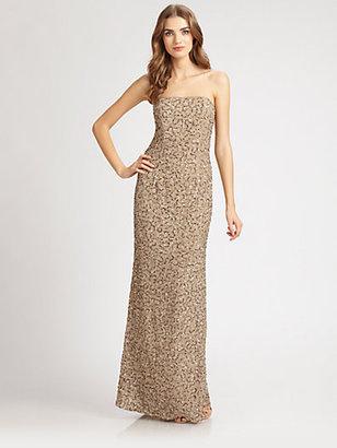 ABS by Allen Schwartz Sequined Gown