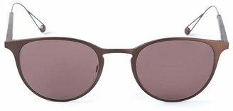 Garrett Leight oval frame sunglasses