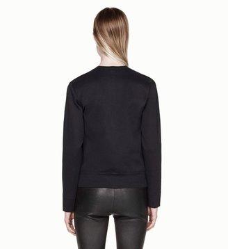 Helmut Lang Motion Leather Combo Shirt
