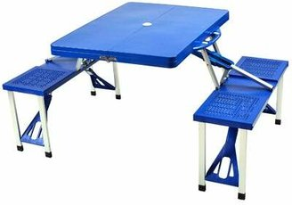 Picnic at Ascot Stingley Plastic/Resin Camping Table Color: Blue