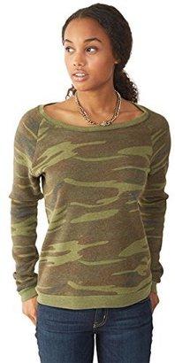 Alternative Women's Dash Pullover Sweatshirt $14.40 thestylecure.com