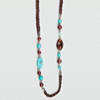 Full Tilt Bead & Braid Necklace