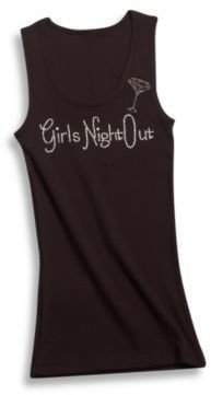 Black -InchGirls Night Out-Inch Extra Large Tank Top $14.99 thestylecure.com