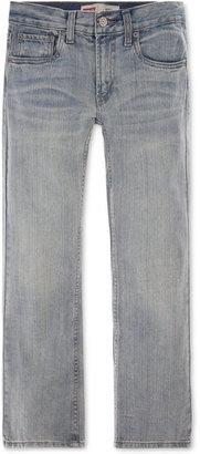 Levi's® Boys' 527 Bootcut Jeans $40 thestylecure.com