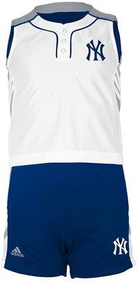 New York Yankees Adidas raglan tank & shorts set - toddler