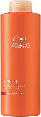 Wella Enrich Moisturizing Conditioner For Fine/Normal Hair