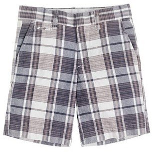 Cotton Club Boys' Indian short in boatyard plaid