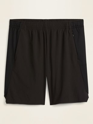 Old Navy Go-Dry Woven/Mesh Hybrid Workout Shorts for Men -- 9-inch inseam