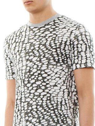 Lanvin Abstract animal-print T-shirt