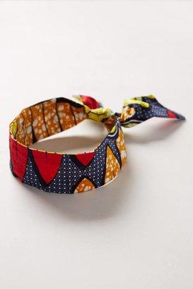 Anthropologie Gahaya Links Pebble Pattern Headband