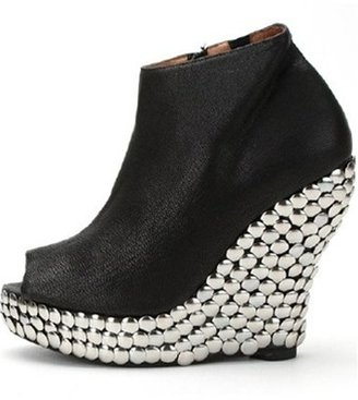 Jeffrey Campbell Tick Silver Studded Bootie-SOLD OUT!