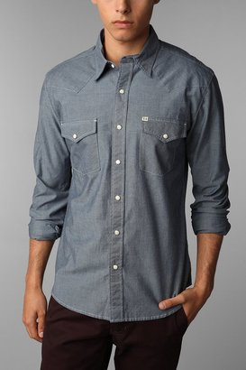 UO Salt Valley Chambray Western Shirt