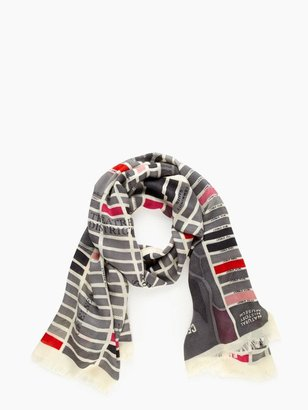 Kate Spade Girl about town scarf