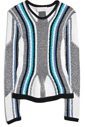 Peter Pilotto R Graphic Knit Pullover