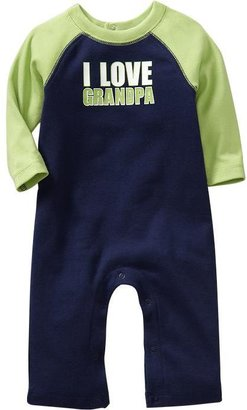 """Old Navy """"I Love"""" Graphic One-Pieces for Baby"""