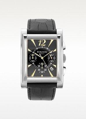 Forzieri Wall Street - Black Dial Chronograph Date Watch