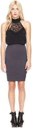 Nicole Miller Gabardine Skirt