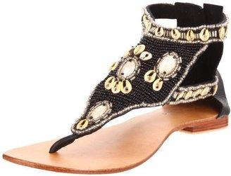 Cocobelle Women's Sea Shells Thong Sandal