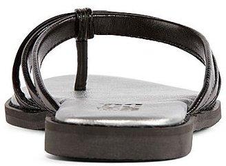 JCPenney 9 & Co.® Elainita Triple-Strap Thong Sandals