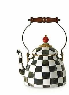 Mackenzie Childs MacKenzie-Childs MacKenzie-Childs Courtly Check Tea Kettle