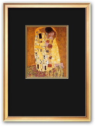 "Gustav Art.com ""the kiss, c.1907"" framed art print by klimt"