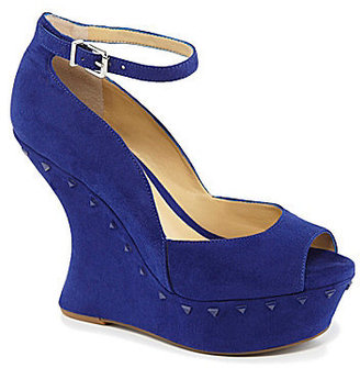 Gianni Bini Athena Ankle-Strap Wedges