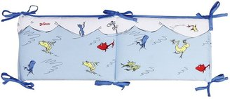 Trend Lab Dr. Seuss One Fish, Two Fish, Red Fish, Blue Fish Crib Bumper by