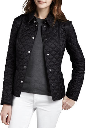 Burberry Kencott Heritage Quilted Jacket $595 thestylecure.com