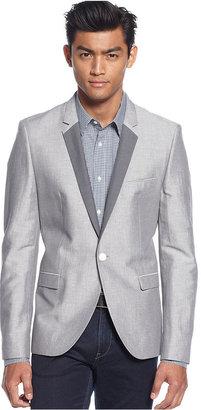 HUGO BOSS HUGO Linen-Blend Slim-Fit Blazer