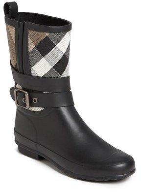 Burberry 'Holloway' Rain Boot (Women)