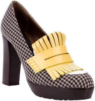 Marni heeled loafer