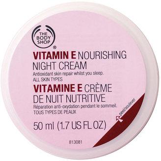 The Body Shop Vitamin E Nourishing Night Cream 1.69 fl oz (50 ml)