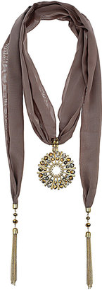 Wallis Gold Bead Disc Scarf Neckwear