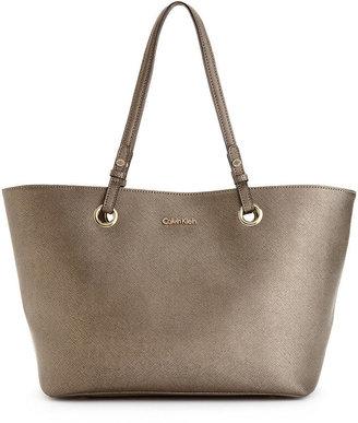 Calvin Klein Handbag, Key Item Saffiano Leather Tote