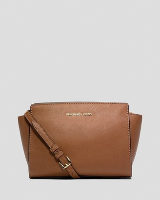 MICHAEL Michael Kors Crossbody - Selma Medium Messenger $228 thestylecure.com
