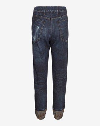 Rag and Bone Miramar Digital Print Sweatpant Jean: Sheffield