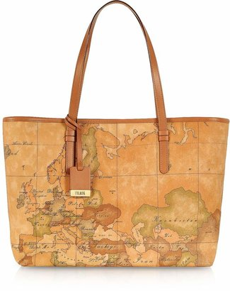 Alviero Martini 1a Prima Classe - Geo Printed Large 'New Basic' Tote Bag
