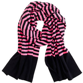 J.Crew Stripe merino scarf