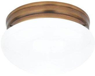 Sea Gull Lighting Webster 2-Light Russet Bronze Flushmount
