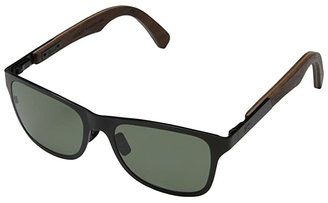 Shwood Canby Titanium - Polarized (Black Titanium// Walnut - G15 Polarized) Sport Sunglasses