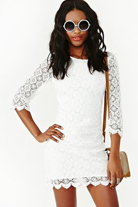 Nasty Gal Iris Crochet Dress
