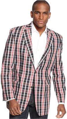 Sean John Jacket, Plaid Blazer