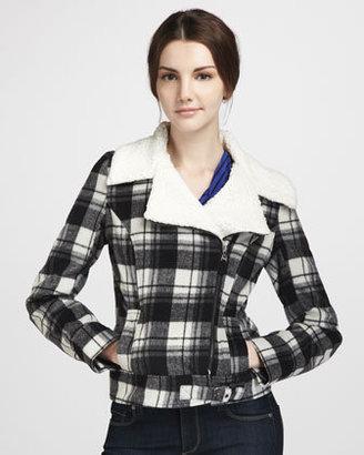 Splendid The Birmingham Plaid Jacket