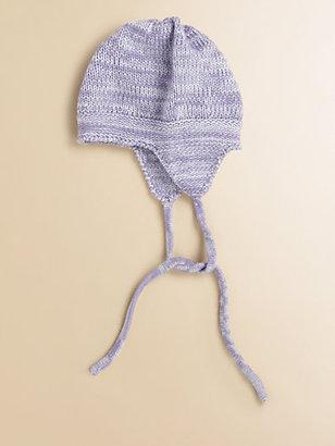 Portolano Kids Infant's Merino Wool Tweed Hat